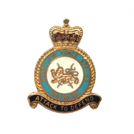 Royal Air Force RAF Station Tangmere Lapel Badge Lapel Badge